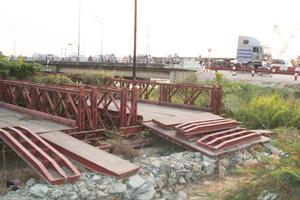 Gia công kết cấu cầu sắt